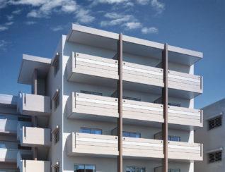 東浜のアパート付住宅